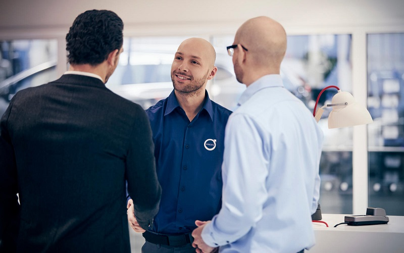 Volvo Personal Service VPS Annahme bei Garage Engeler Automobile AG
